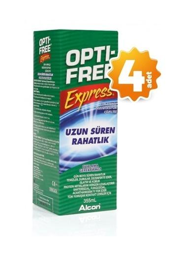 Opti – Free OptiFree 4'lü Express Lens Solüsyonu 355 ml Renksiz